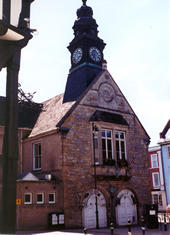 Part of the Town Hall in Market Place