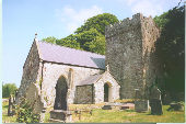Exterior view of St Illtyd