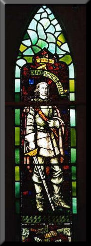 Picture of Stained Glass Window at The Old Church, The Lee