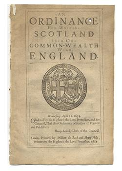 The 1654 union with Scotland — olivercromwell.org