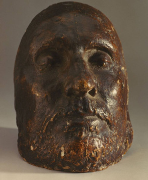 A mask of Cromwell made after his death